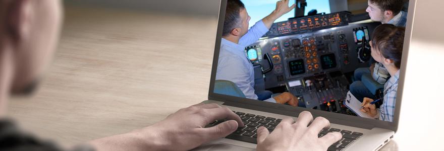 formation de pilote en ligne