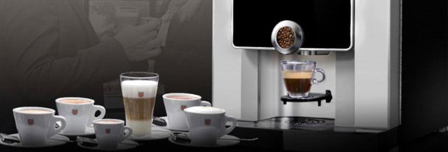 Machine à café professionnelle pour le petit-déjeuner