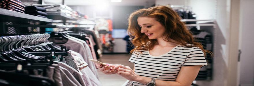 achat vêtements