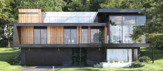 maisons modernes